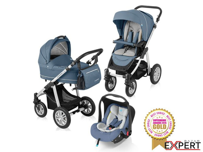 Carucior 3 in 1 Lupo Comfort 01 Steal 2015