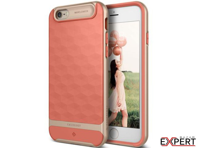 Husa Caseology Parallax iPhone 6/6S Coral Pink