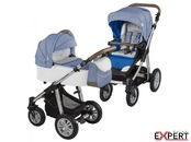 Carucior 2 in 1 - Baby Design Dotty 03 Navy