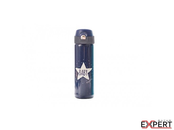 Termos lichide cu cioc Baby Star navy 500 ml