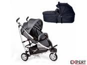 Carucior 2 in 1 Buggster S Black/Grey