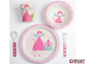Set alimentatie Bamboo Princess, 5 piese