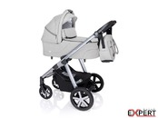 Carucior multifunctional + Winter Pack Baby Design Husky 2020 - Light Gray