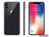 Apple iPhone X 64GB Space Gray + folie protectie Display